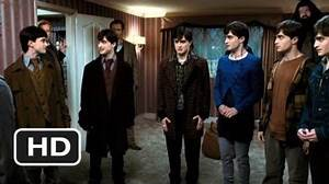 Harry Potter and the Deathly Hallows Part 1 - Seven Harrys (2010) HD