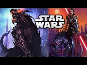 Immortal Sith HOUNDS and the Valley of the Dark Lords - Star Wars Explained