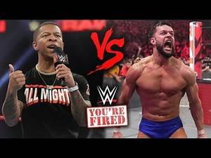 Lio Rush and Finn Balor Get Into A Real BACKSTAGE FIGHT That Costs Them Their Careers   WWE Raw