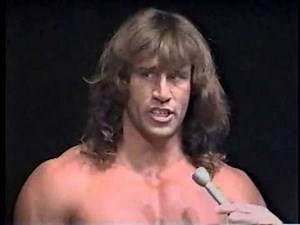 Kerry Von Erich Debut Memphis Promo MAY-14-1989 CWA