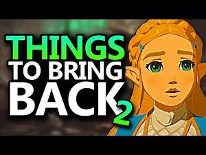 MORE Things Breath of The Wild 2 NEEDS To Bring Back! [ft. MaskedNintendoBandit]
