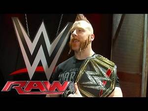Sheamus' sideplates are installed on the WWE World Heavyweight Championship: Nov. 30, 2015