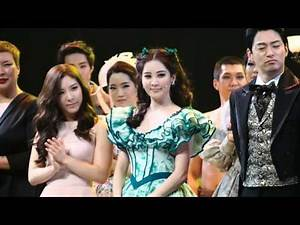 150215 SNSD Seohyun Musical Gone with the Wind ending