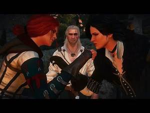 The Witcher - Yennefer is Jealous of Geralt Sleeping With Triss (The Witcher 3 - Wild Hunt)
