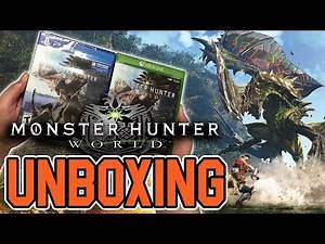 Monster Hunter World (PS4/Xbox One) Unboxing !!