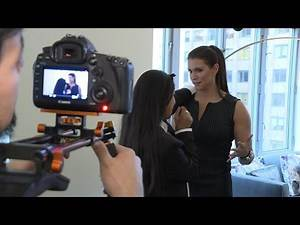 Go behind the scenes of Lilly Singh's YouTube shoot with Stephanie McMahon