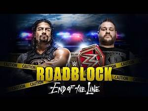 Full WWE Roadblock: End of the Line 2016 PPV preview and predictions
