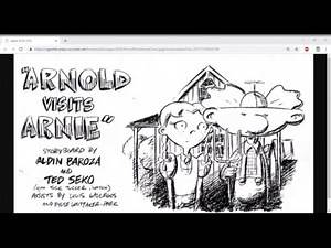 """Haunted Holiday Hijinks: Hey Arnold """"Arnold Visits Arnie"""" Recap Podcast"""