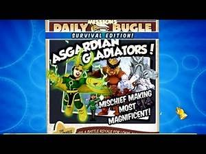 SHSO Asgardian Gladiators! With Black Widow & Future Foundation Spider-man Walkthrough