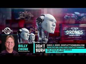 Billy Crone Drones Part 6 - Global Artificial Intelligence Program, Cingularity, Truth May Shock You