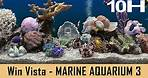 Windows Vista Screensaver - Marine Aquarium 3 - 10 Hours NO LOOP [With Sound]