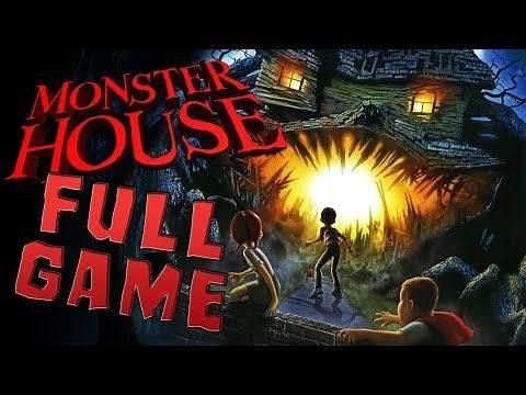 Monster House FULL GAME Walkthrough Longplay (PS2, Gamecube)