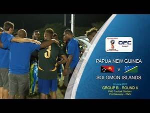 Papua New Guinea v Solomon Islands - 2018 FIFA World Cup Qualifier Highlights