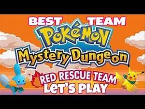 PERSONALITY QUIZ LP - Ep 1 Best Team for Pokémon Mystery Dungeon Red Rescue Team (BTRRT)
