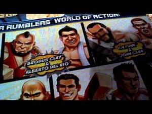WWE Rumblers figures review 3 & cards