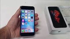 Apple iPhone 6s Unboxing and Review