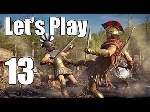 Assassin's Creed Odyssey - Let's Play Part 13: The Wolf of Sparta