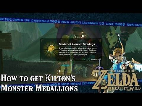 How to get Kilton's Monster Medallions! - The Legend of Zelda: Breath of the Wild - Tips & Tricks