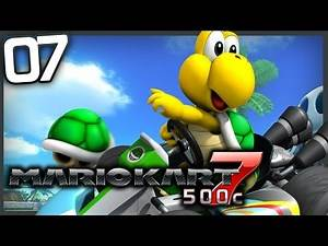 Mario Kart 7 - (Grand Prix) Part 7 - Leaf Cup 500cc!   RasouliPlays