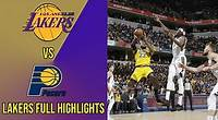 Los Angeles Lakers vs Indiana Pacers Full Team Highlights | December 17, 2019 | 2019-2020 NBA Season