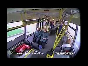 bus crash with music sync
