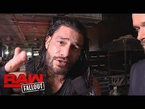 Roman Reigns on why Kevin Owens isn't ready for The Big Dog: Raw Fallout, Nov. 28, 2016