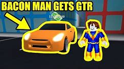 BACON HAIR gets NISSAN GTR   Roblox Mad City Update