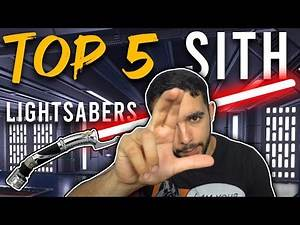 MoZoneMo's Top 5 BEST Sith Lightsabers