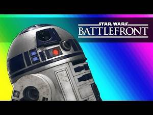 Star Wars Battlefront Launch - Funny Animations and Ewok Hunt!