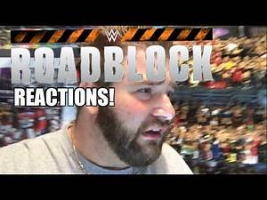 WWE ROADBLOCK REACTIONS! Dean Ambrose vs Triple H Championship Match Results and Review 3/12/2016