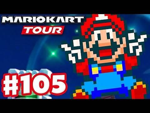 Super Mario Kart Tour! SNES Mario! - Mario Kart Tour - Gameplay Part 105 (iOS)