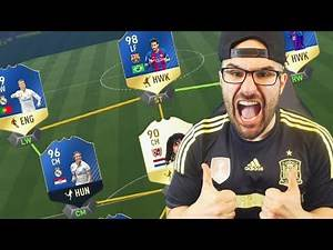 THE VERY BEST TEAM IN FIFA EVER!!! FIFA 17 Ultimate Team