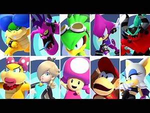 All Special Guest Characters in Mario & Sonic at the Tokyo 2020 Olympic Games