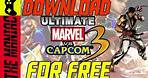 How To Download ULTIMATE MARVEL VS CAPCOM 3 ON PC FOR FREE !!!