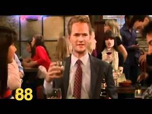 HIMYM: Barney's Complete History of Sex Partners (with Counter!)