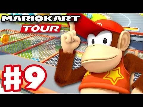Mario Kart Tour - Gameplay Part 9 - New York Tour 100% Complete! 200cc! (iOS)