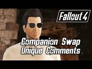 Fallout 4 - Companion Swap Unique Comments (Deacon)