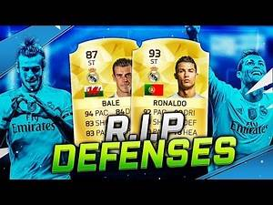 THE BEST ATTACK in FIFA 16 ULTIMATE TEAM - STRIKER RONALDO & STRIKER BALE - THE DEADLY COMBO