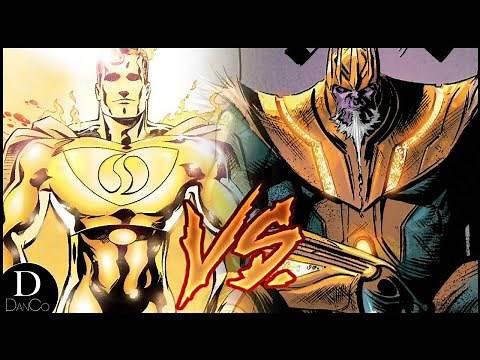 Superman Prime One Million VS King Thanos   Marvel VS DC   BATTLE ARENA