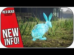GHOST ANIMALS Update Details & New Pamphlets! (Red Dead Online Halloween DLC Update)