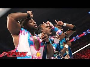 The New Day are survivors: Raw, November 2, 2015