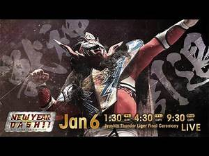 NJPW New Year's Dash 2020 Recap