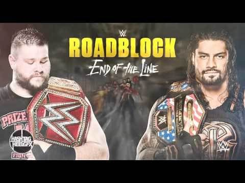 "2016: WWE Roadblock: End of the Line Official Theme Song - ""A Different Kind of Dynamite"" ᴴᴰ"