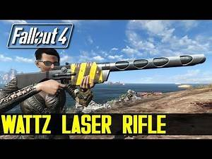 WATTZ LASER RIFLE AND FRIENDS - Fallout 4 Mod Review PC