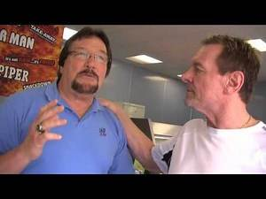 Ted Dibiase Million Dollar Man Rowdy Roddy Piper at Tony s Takeaway Dundee