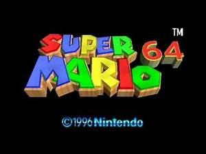 Super Mario 64 Soundtrack - Game Over