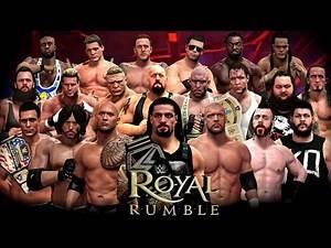 WWE 2k16 SHQIP - Royal Rumble & Undertaker vs Rusev !! - SHQIPGaming