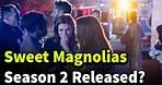Sweet Magnolias season 2 release date