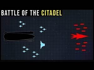 How the CITADEL FLEET defeated SOVEREIGN | Mass Effect Battle Breakdown