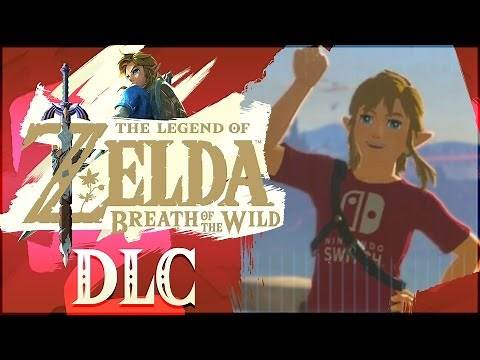 The Legend of Zelda: Breath of the Wild - Nintendo Switch Shirt DLC, Hidden Treasure, & More!